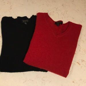 CASHMERE Charter Club luxury petite sweater bundle